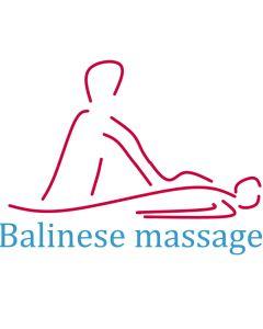 Basis massage met extra tijd