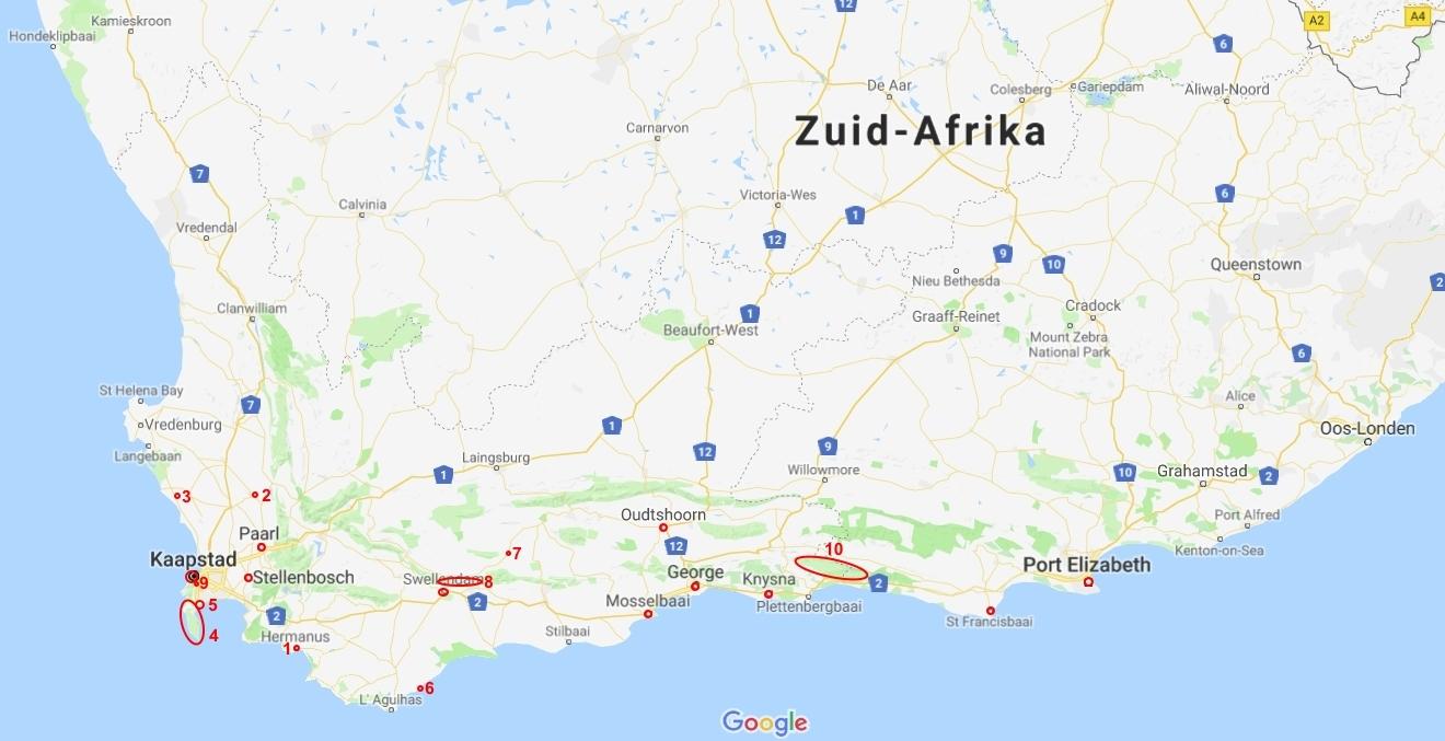 Zuid Afrika Westkaap