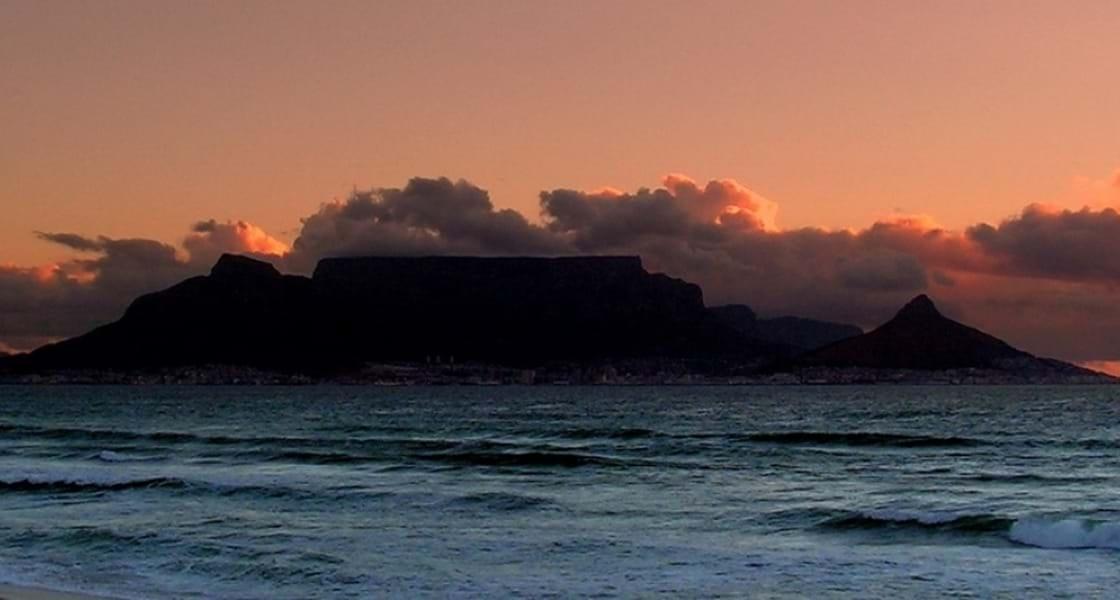 Kaapstad Tafelberg sunset