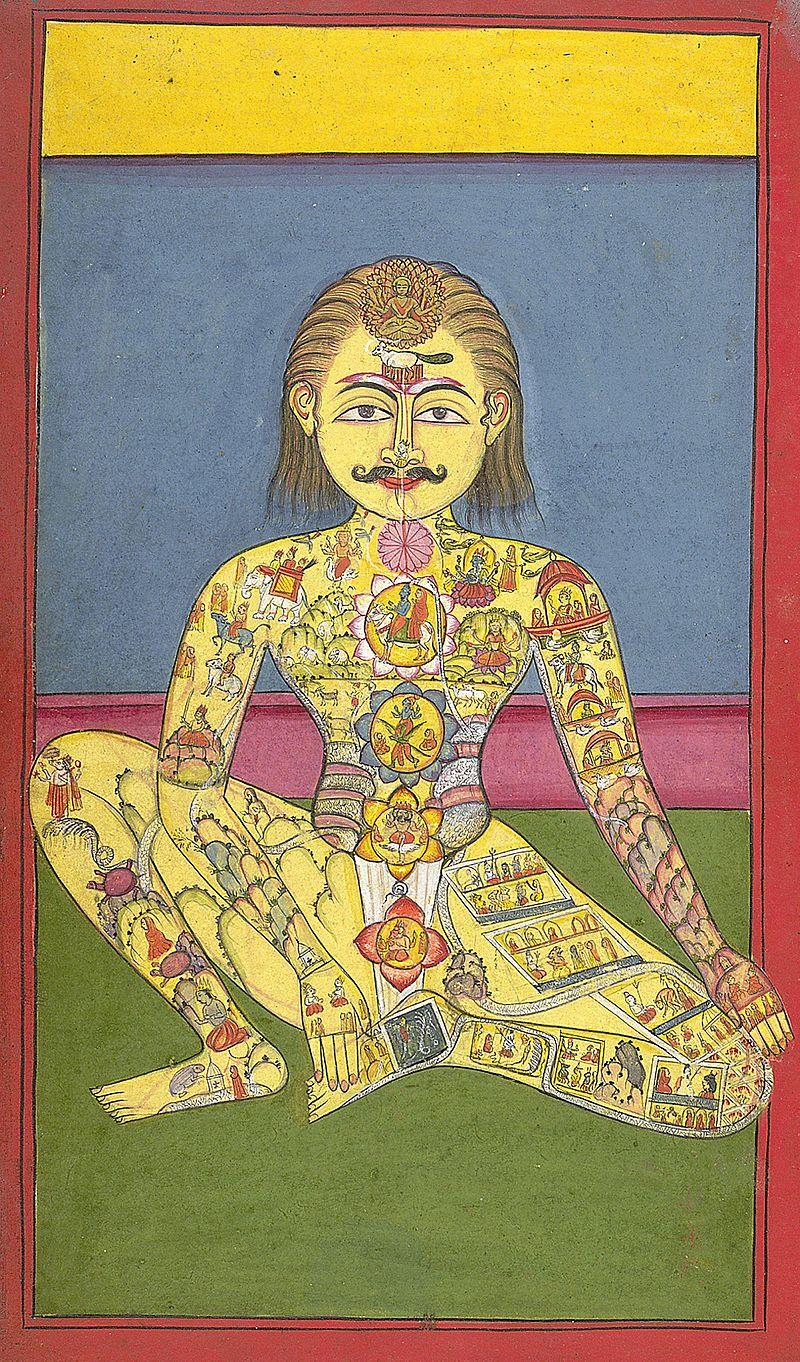 SaptaChakra, 1899. Bron: The British Library